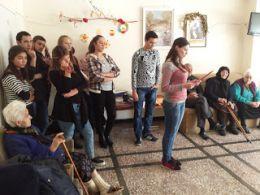 """Благотворителност в действие на Общежитие """"Младост"""" Силистра  1"""